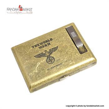 جعبه سیگار فلزی فندک دار هارلی دیویدسون