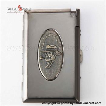 جعبه سیگار فلزی فندک دار کاپتان بلک