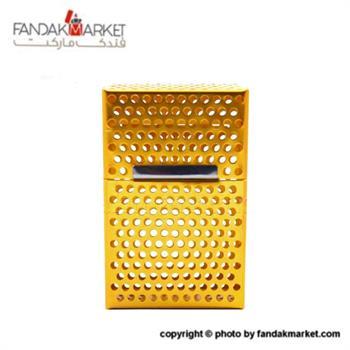 جعبه سیگار پاکتی فلزی طرح توری