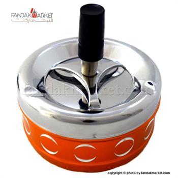زیر سیگاری فشاری نارنجی