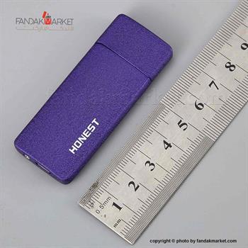 فندک جعبه دار جیبی درب دار هانست شارژی USB