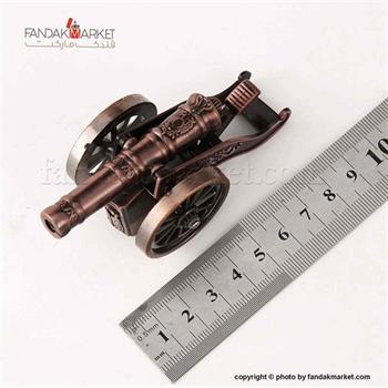 فندک کادویی جیبی کلکسیونی مدل توپ جنگی