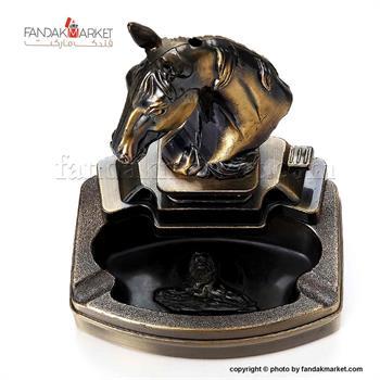 فندک دکوری زیرسیگاری دار مدل اسب