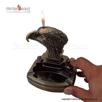 فندک دکوری زیر سیگاری دار مدل عقاب