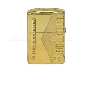 فندک زیپو طرح دار طلایی
