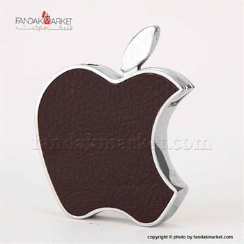 فندک جیبی طرح اپل با روکش چرمی
