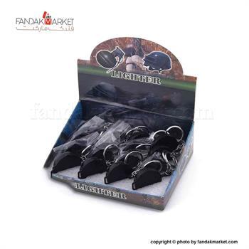 فندک جاکلیدی دار مدل ماهی تابه