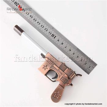 فندک مدل تفنگ کمیسر طرح استار