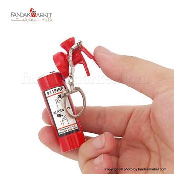 فندک مدل کپسول آتش نشانی جا کلیدی دار