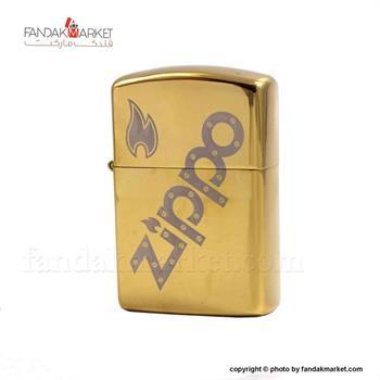 فندک زیپو طلایی