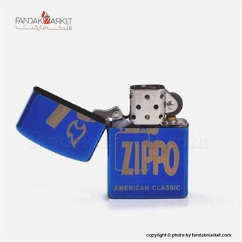 فندک زیپو مدل استیل جور