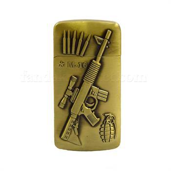 فندک کپکس طرح تفنگ و فشنگ