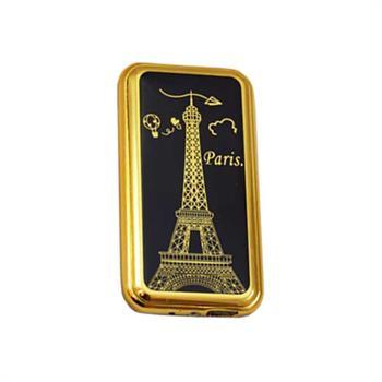 فندک مشکی طلایی