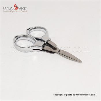 قیچی کوچک دسته نقره ای