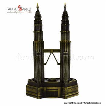 مجسمه دکوری برج دوقلو پتروناس
