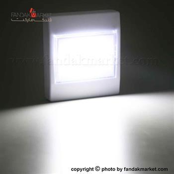 چراغ اضطراری پریز با دو لامپ COB