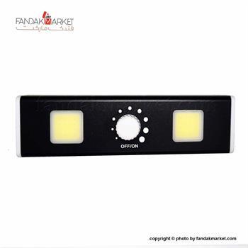 چراغ اضطراری دیواری دو لامپ مدل پنل COB