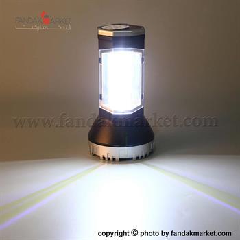 چراغ قوه دستی نورافکن دو حالته COB و LED