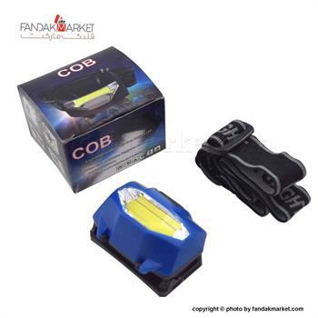 چراغ قوه سربند متحرک با نور سه حالته COB