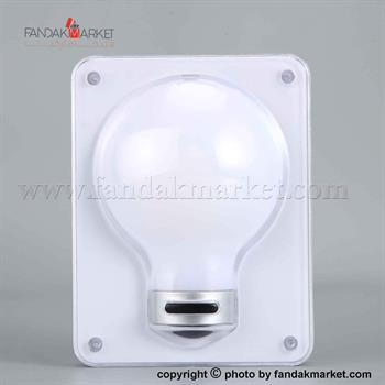 چراغ اضطراری دیواری و سقفی مدل حبابی LED