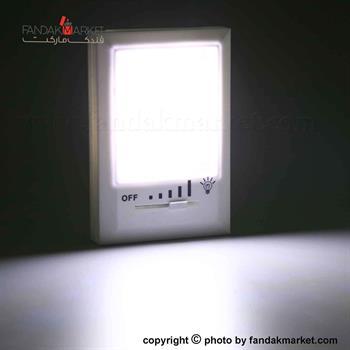 چراغ اضطراری دیواری دو لامپ COB