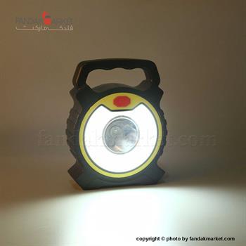 چراغ قوه دستی گرد با نور دو حالته LED