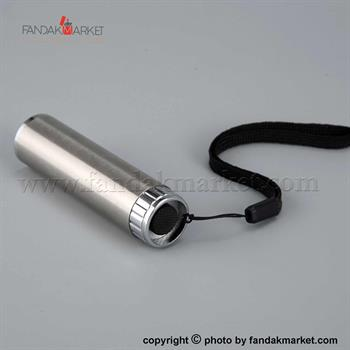 چراغ قوه دستی استیل LED