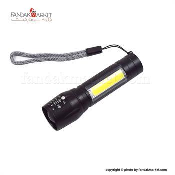 چراغ قوه دستی زوم دار شارژی USB