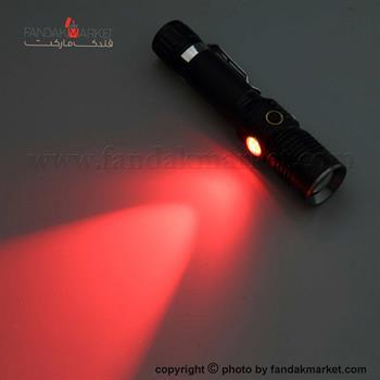 چراغ قوه دستی زوم دار سه حالته LED