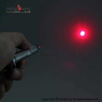 چراغ قوه دستی خودکاری لیزر دار و بند دار