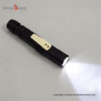 چراغ قوه دستی و سربند USB