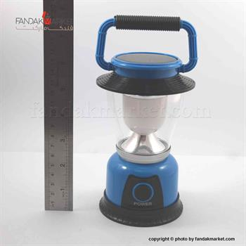 چراف قوه مدل فانوس آبی شارژی USB